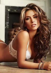 Beautiful Model Jessica Cediel Sexy Lingerie Photos