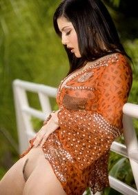 Sunny Leone In The Park