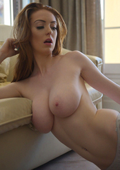 Busty Babe Alice Brookes